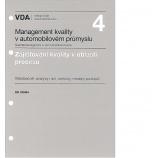 VDA 4 - Zajišťování kvality před sériovou výrobou (kapitola Six Sigma)